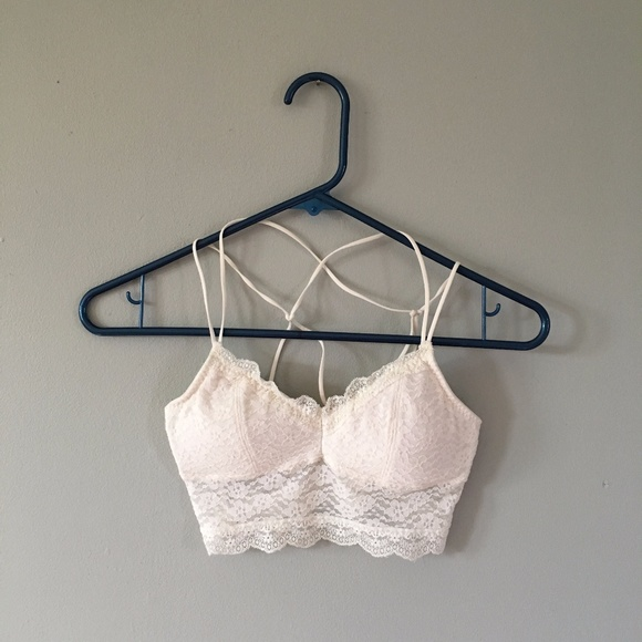3320e774ce Hollister Other - Lace padded bralette Hollister